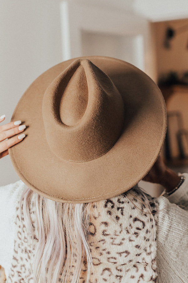 The Aurora Hat In Camel