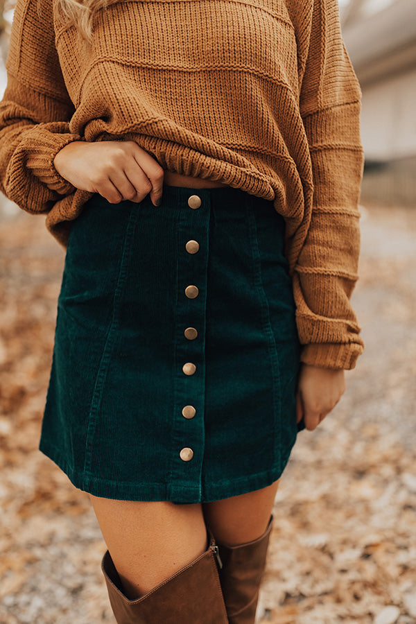 The Hazel Button Down Skirt