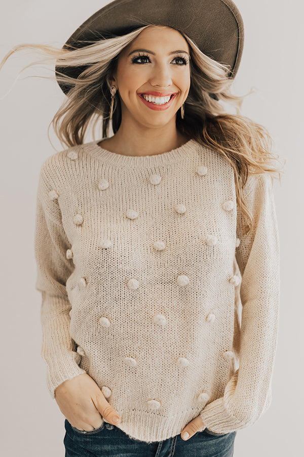 Snowy In The City Knit Sweater