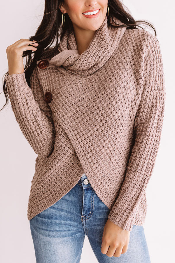Sweeter Than Cider Sweater in Dusty Purple