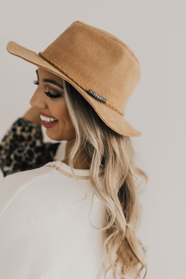 Classic Love Story Hat In Iced Latte