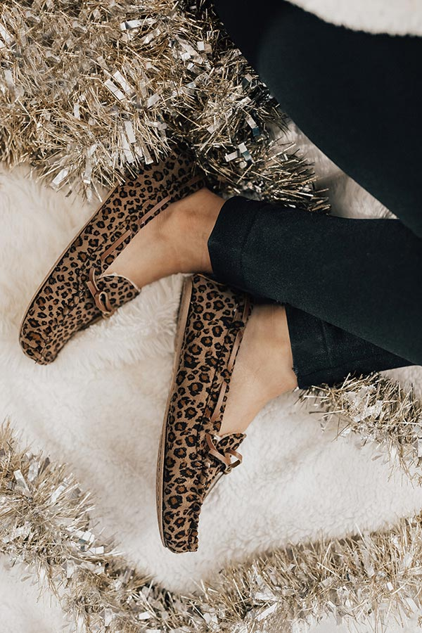The Arden Leopard Slippers