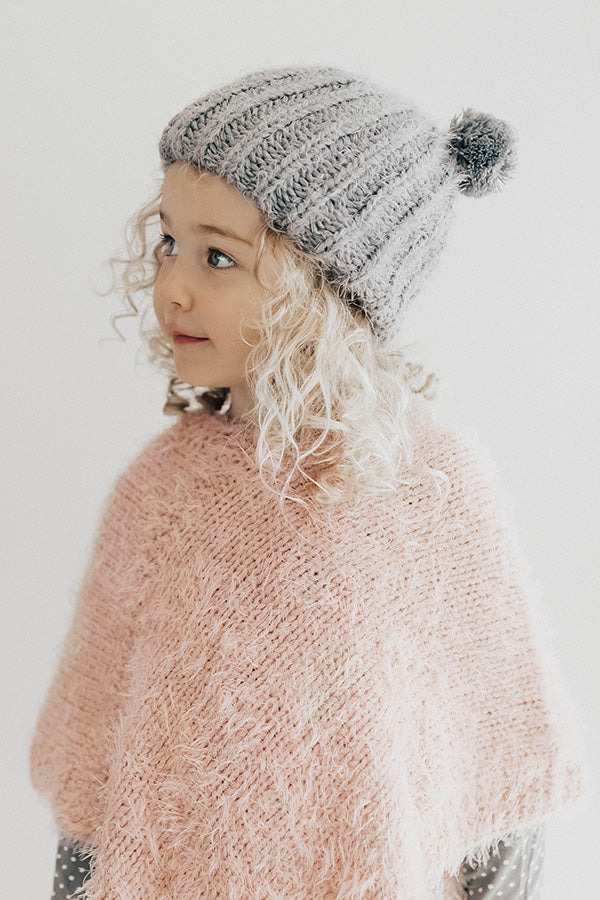 Cozy Days Children's Pom Pom Beanie