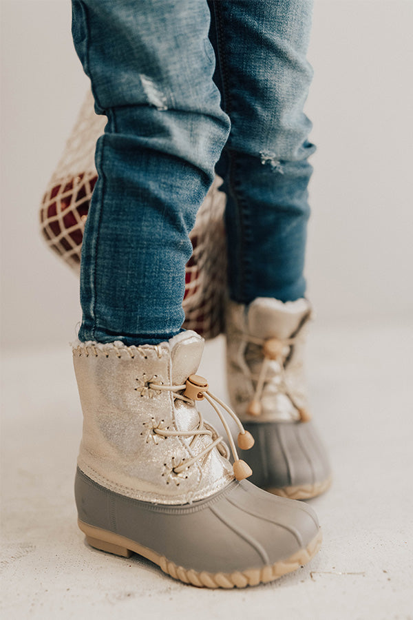 The Zoe Metallic Children's Boot