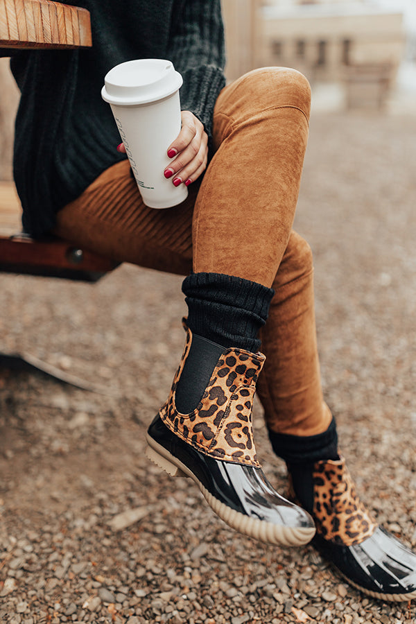 The Waverly Leopard Bootie