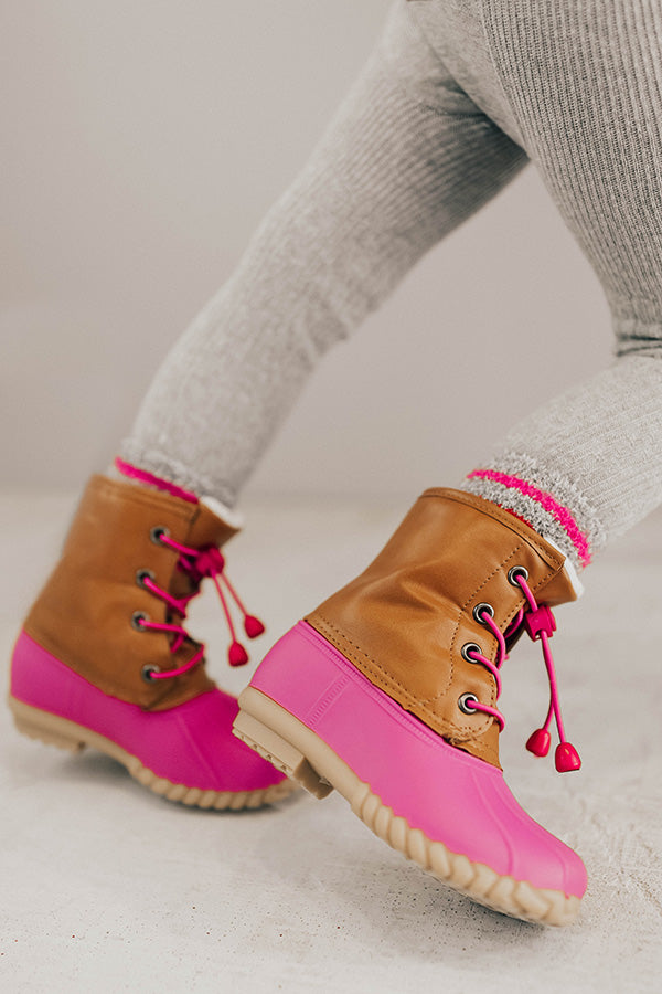 The Britt Sherpa Lined Children's Boot