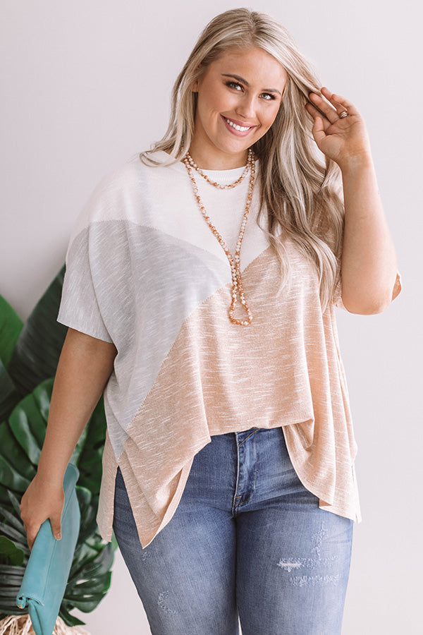 High Shine Crystal Necklace In Camel