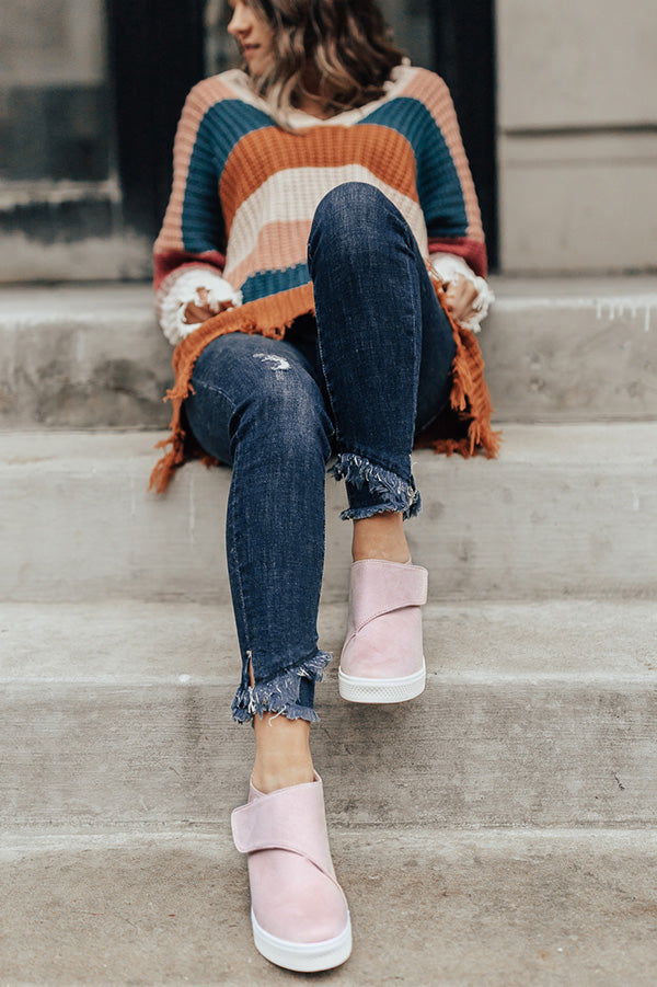 The Penny Lane Bootie In Blush