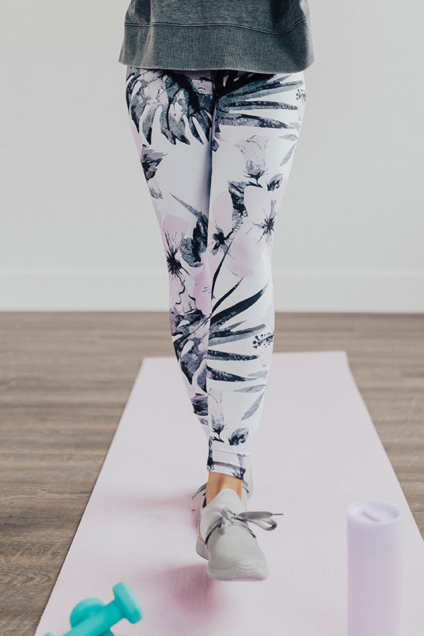 Stay Inspired Midrise Floral Print Legging