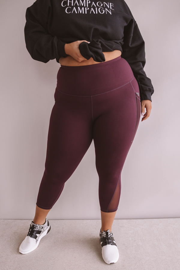 Turn It Up High Waist Crop Legging