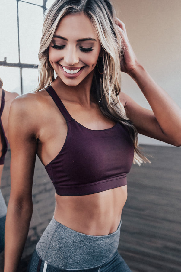 In Good Spirits Sports Bra
