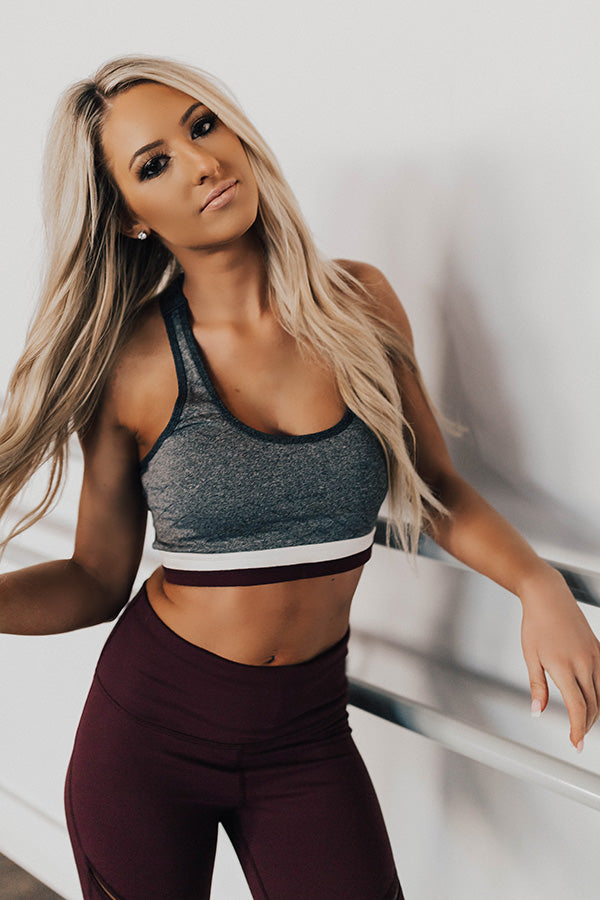 Full Of Energy Sports Bra