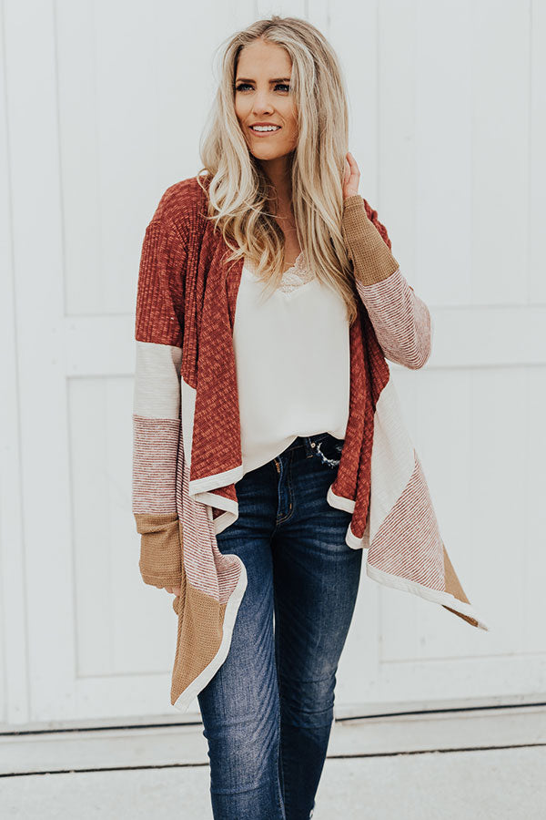 Crushing On You Colorblock Cardigan