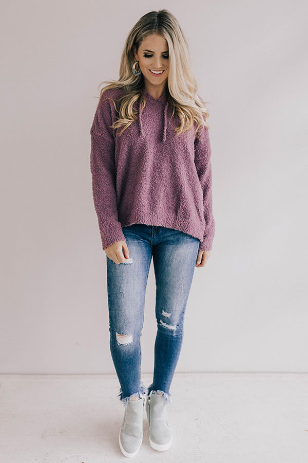Soft And Chic Fuzzy Hoodie