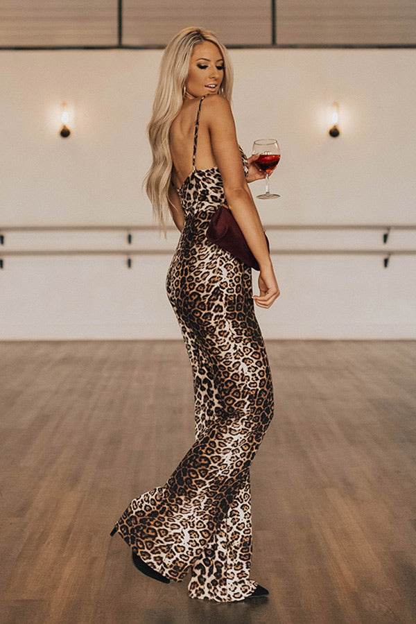 L.A. Nights Leopard Jumpsuit