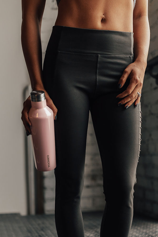 Corkcicle 16 oz Canteen in Light Pink