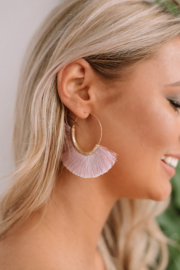 Havana Happy Hour Earrings In Lavender