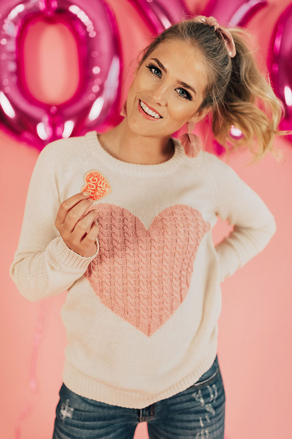 Be Mine Shift Sweater
