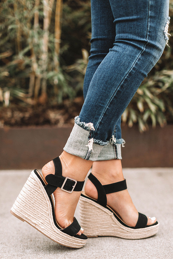 The Kennedy Wedge in Black