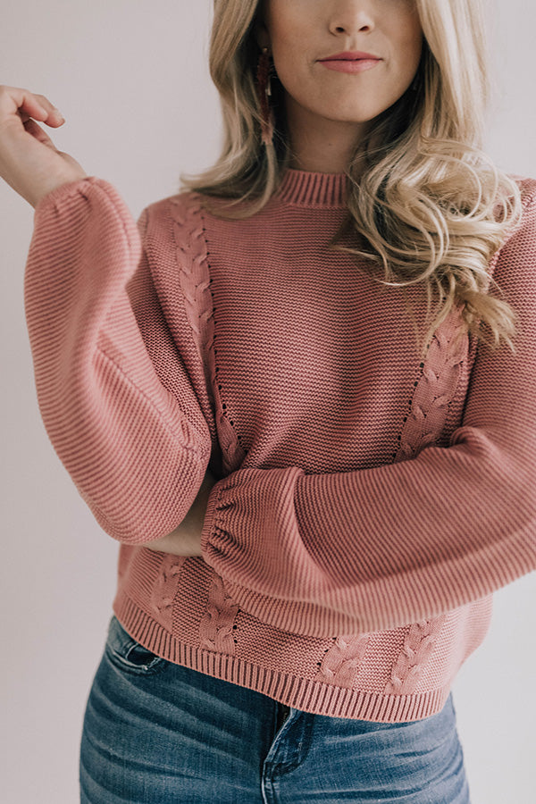 Toast To Love Knit Sweater