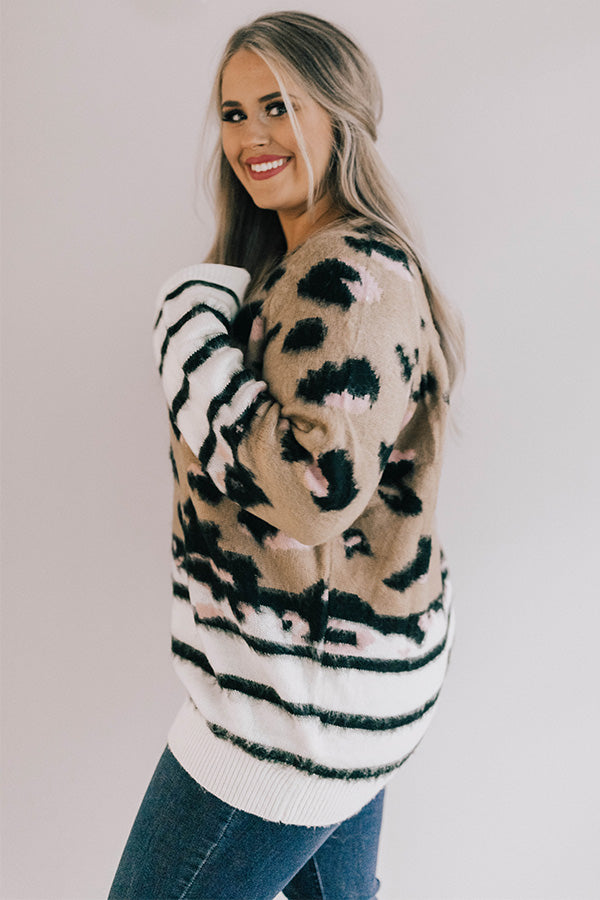 Insta-Ready Leopard Sweater