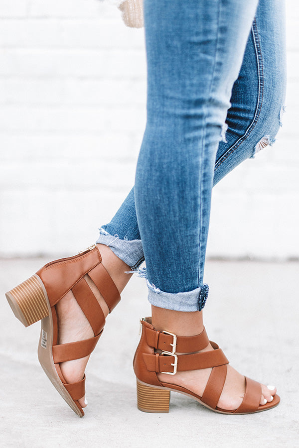 The Tristan Heel In Brown
