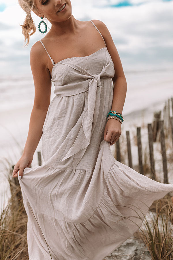 Venice Beach Vacay Maxi In Light Dusty Purple