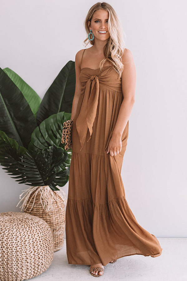 Venice Beach Vacay Maxi In Copper