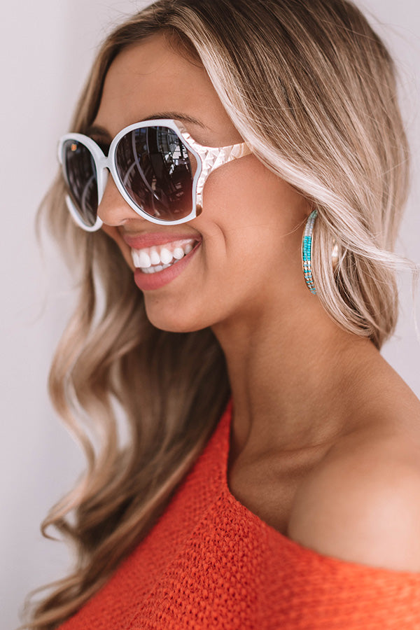 Bahama Beaches Sunnies In White
