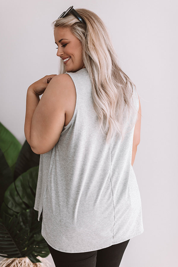 Daily Favorite Tank In Grey