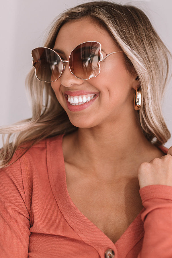 Infinite Sunshine Sunnies In Brown