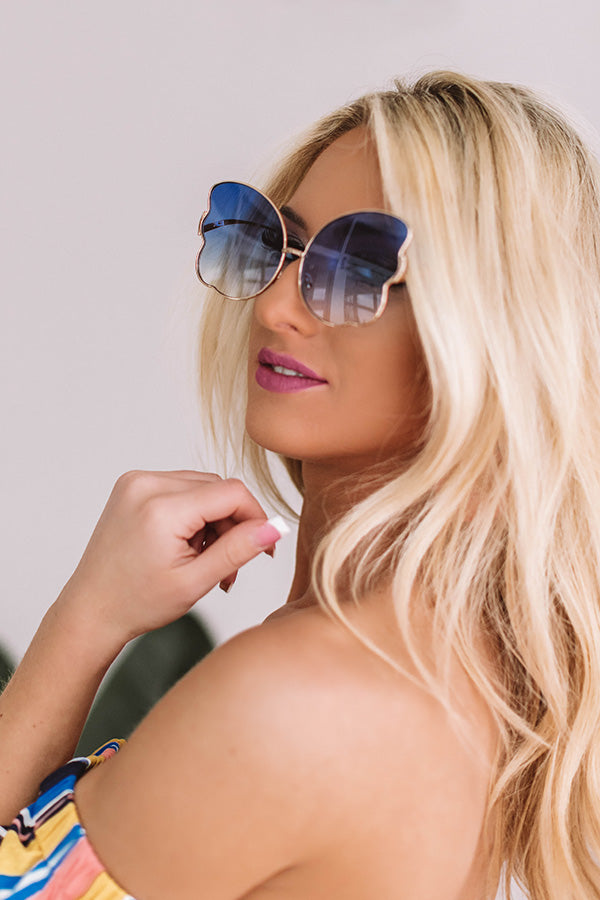 Infinite Sunshine Sunnies In Blue