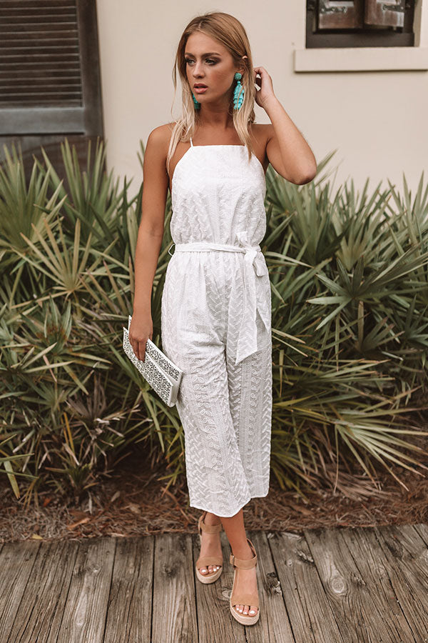 Gorgeous In The City Embroidered Jumpsuit