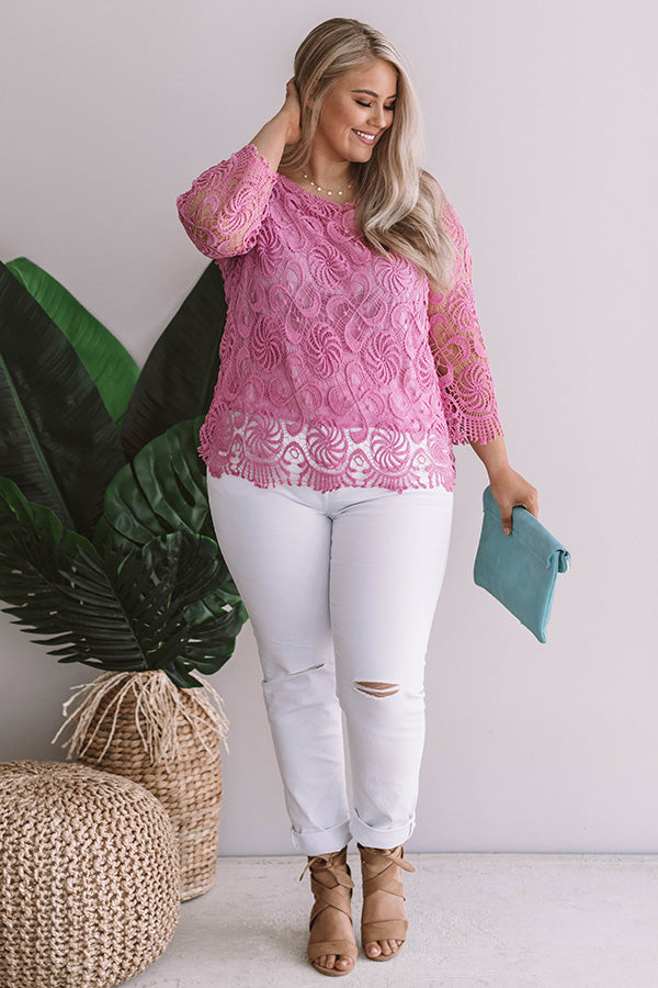 Ready For A Vacay Crochet Top