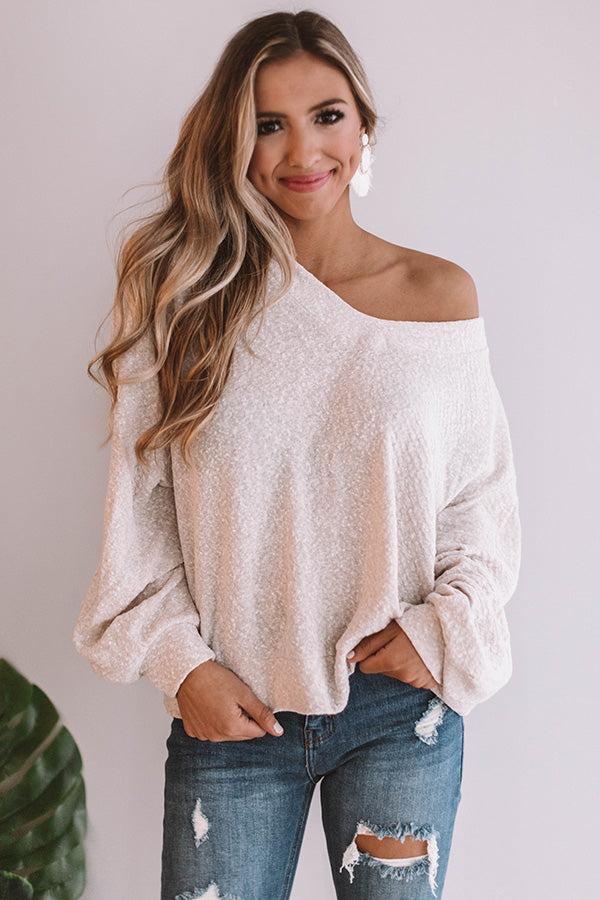 Blissful Breeze Shift Top