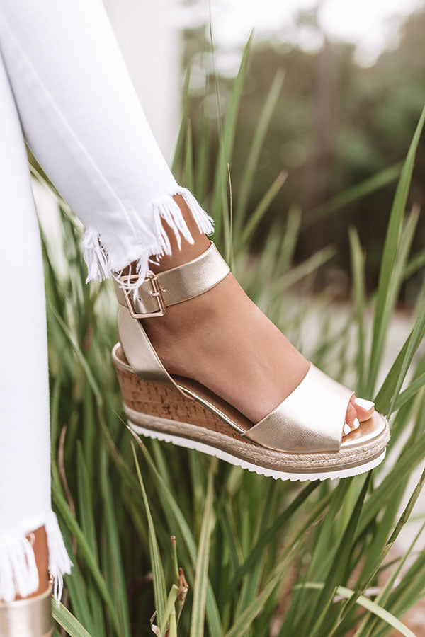 The Wyatt Wedge In Gold