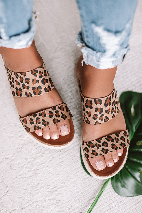 The Lola Espadrille In Leopard
