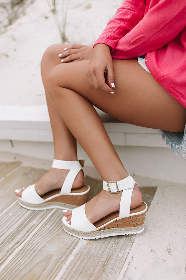 The Wyatt Wedge In White