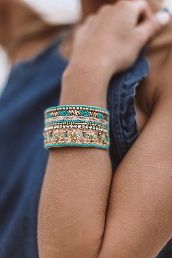 Sunshine State of Mind Cuff Bracelet