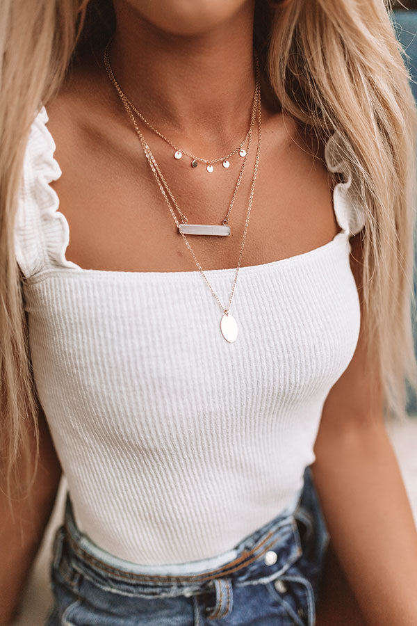 Patio Breeze Layered Necklace