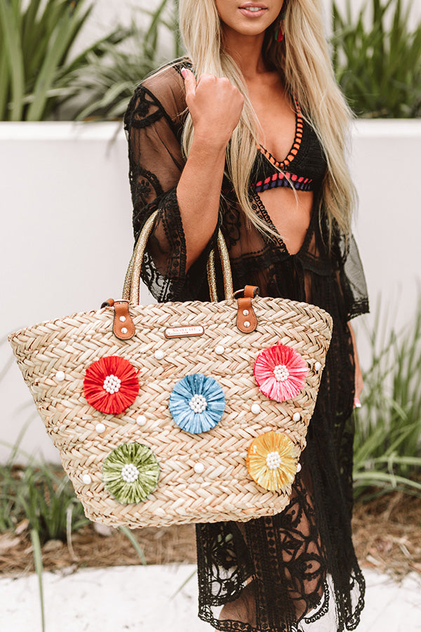 Resort Lifestyle Woven Tote