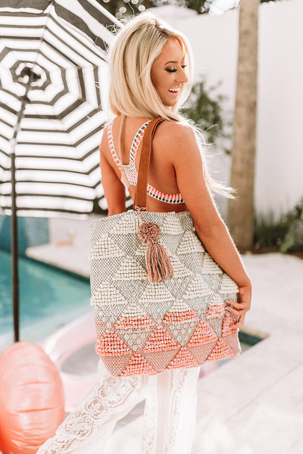 Beach Season Knited Tote