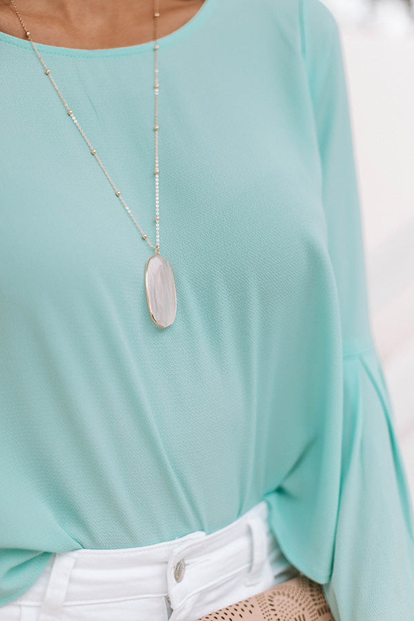 Pacific Coast Crush Necklace In Ivory