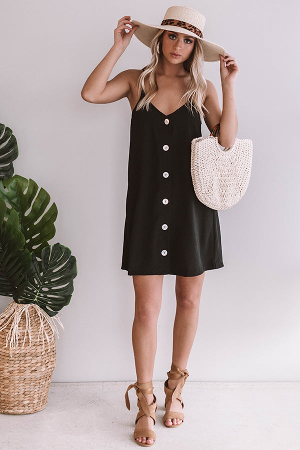 From Work To Play Button Down Dress