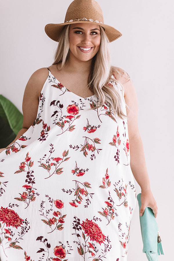 Go With The Floral Maxi Dress