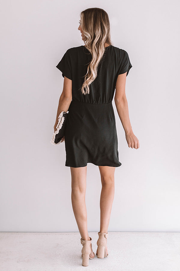 Divine Feeling Dress in Black