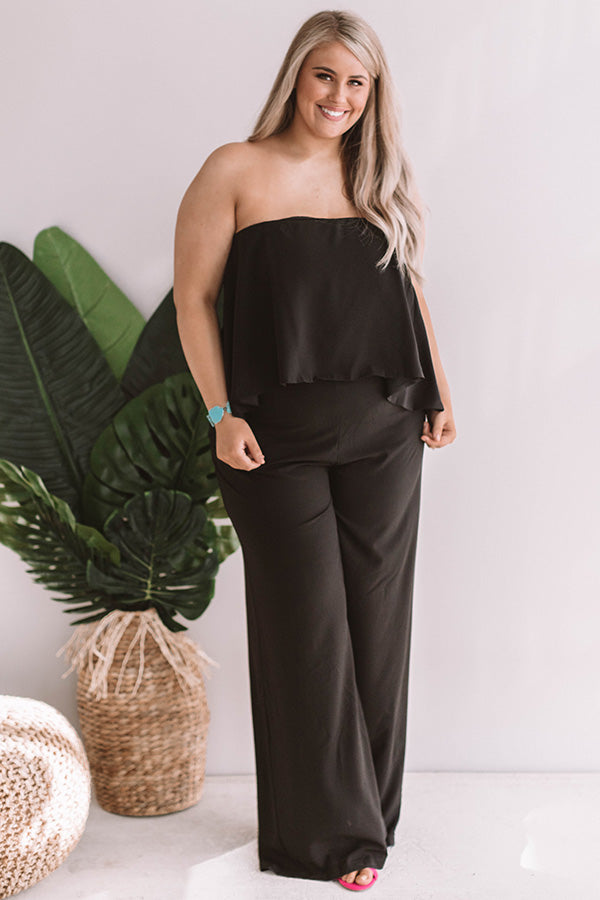 What A Babe Jumpsuit in Black