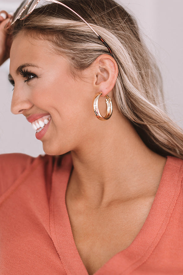 Miami Meetup Hoop Earrings