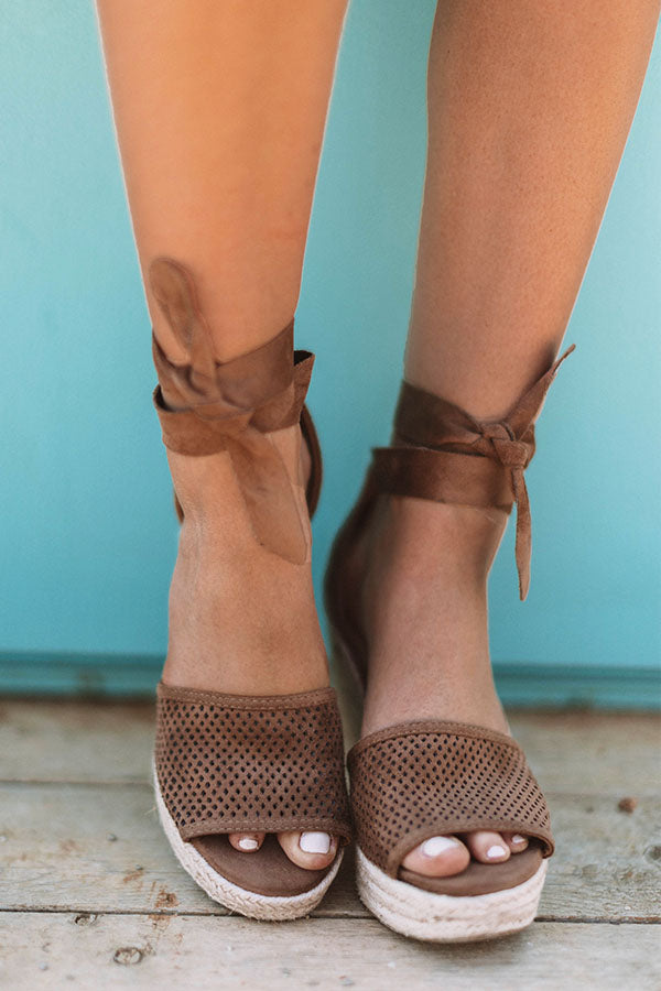 The Ophelia Wedge In Mocha