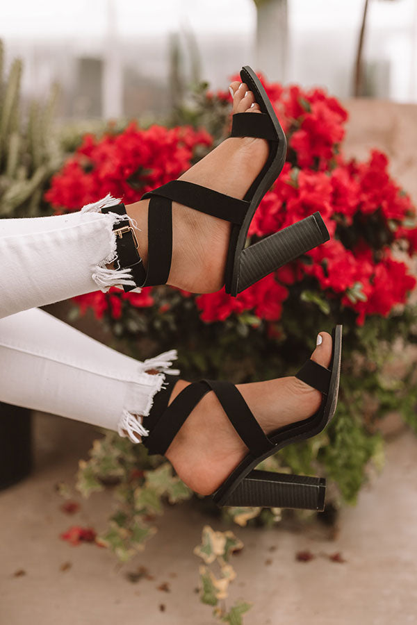 The Hayley Heel In Black